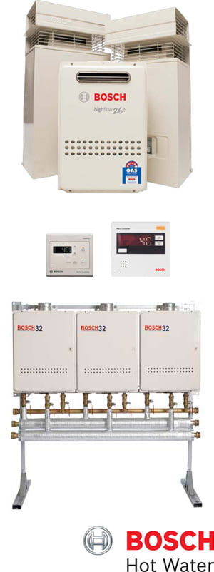 Bosch solar hot water systems are available through you local, authorised agents here at Australian Hot Water