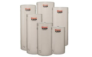 Range of Rinnai electric hot water systems