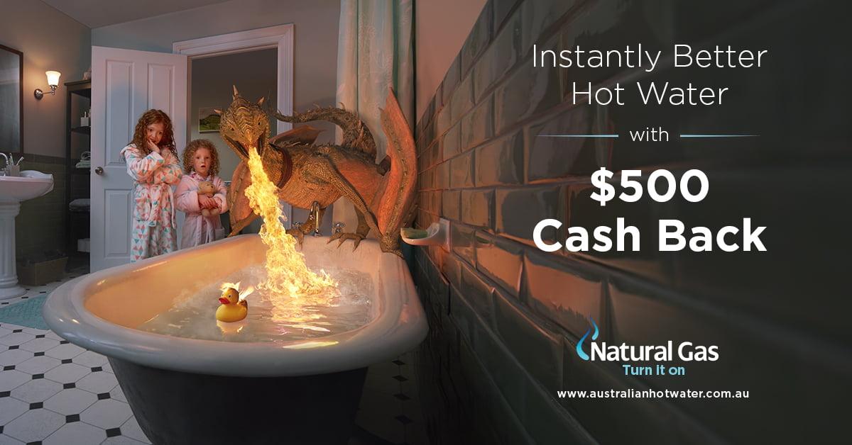 Natural Gas $500 cash back