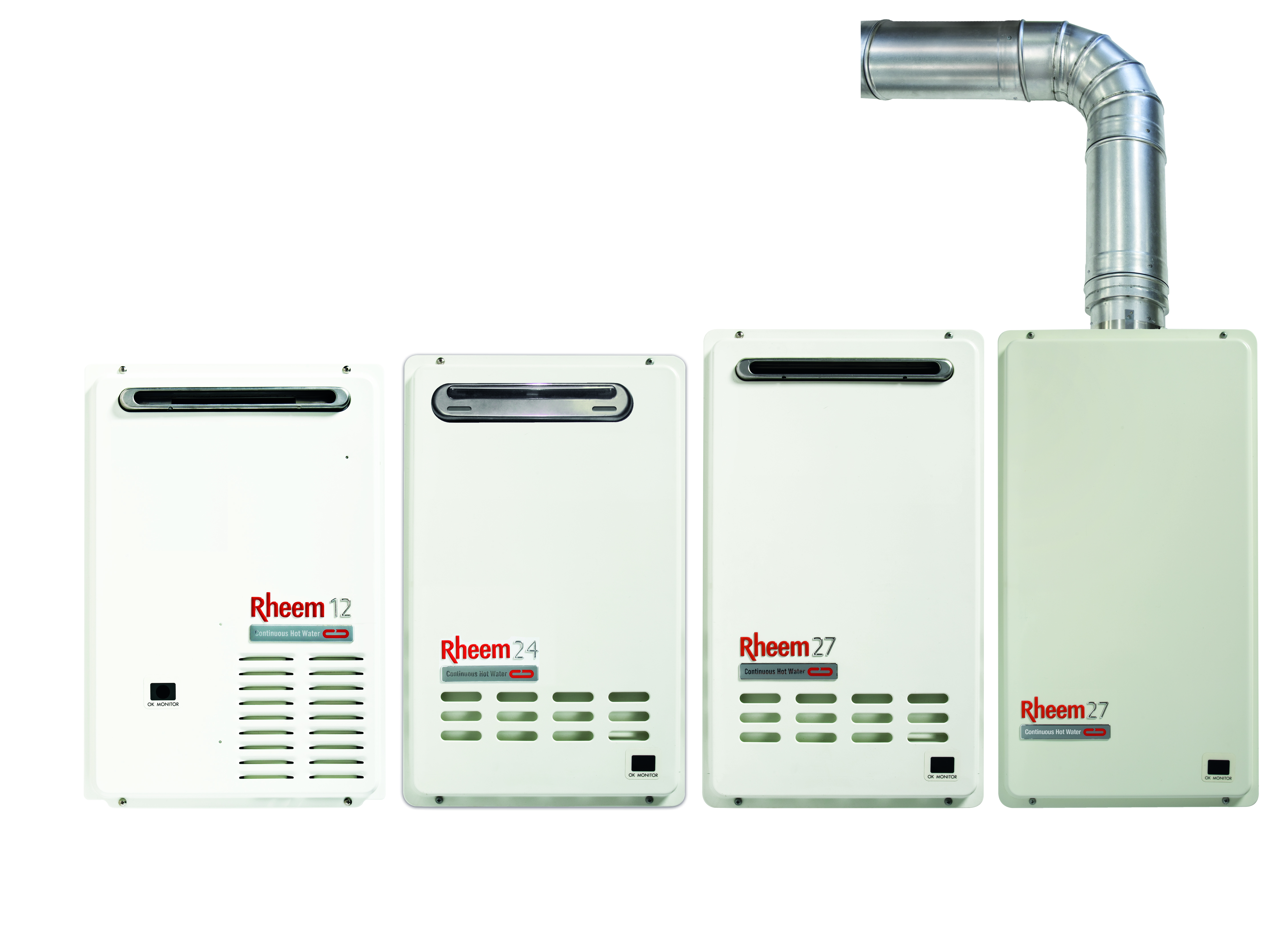 Rheem Hot Water Heaters >> Rheem Continuous Flow Gas Hot Water Heaters
