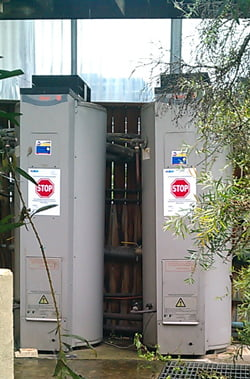Photo of commercial hot water system installed by Australian Hot Water