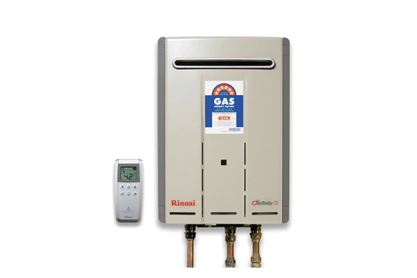 Rinnai Infinity Continuous Gas