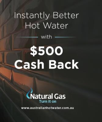 Switch to Natural Gas $500 Cashback
