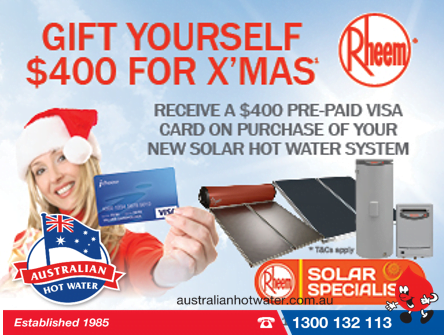 $400 Gift to Switch to Solar- OFFER ENDED