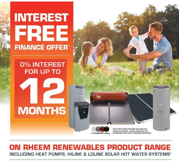 Rheem Solar & Heat Pump water heaters