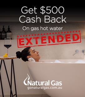 Switch to Natural Gas and get $500 Cashback -OFFER ENDED