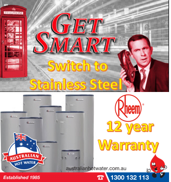 Rheem Stellar Stainless Steel Upgrade Receive $50 Gift Card