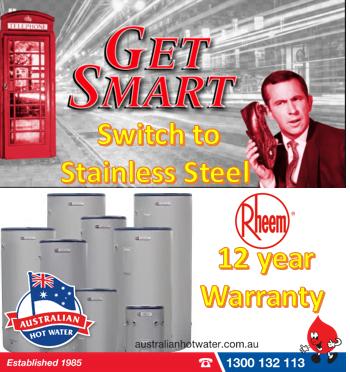 Rheem Stellar Stainless Steel Upgrade Receive $50 Gift Card